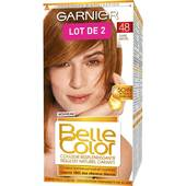 Garnier Belle Color - Crème Facil-color Cuivré Naturel 48 le lot de 2 boites de 120 ml