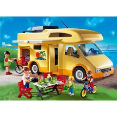Playmobil summer fun collector camping car 3647 4-10ans