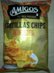 Amigos Tortillas Chips Saveur Chili 200 g