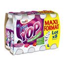PTIT YOP AROMATISE FRUITS ROUGES 180Gx8
