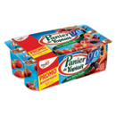 Panier de Yoplait 0% fruits rouges 8x125g anniversaire
