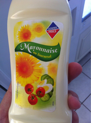 Mayonnaise au tournesol en tube 450ml
