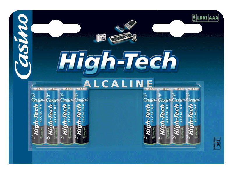 Piles High-Tech LR03