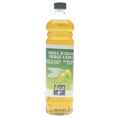 Huile olive Eco+ Extra vierge 1l