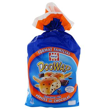Harrys doo wap pepites chocolat x 12 500g - Tous les