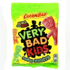 CARAMBAR very bad kids fruits, 195g