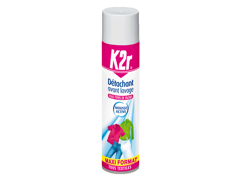 K2r detachant avant lavage aerosol 400ml