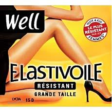 Collant elastivoile resistant grande taille WELL ibiza T6