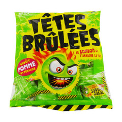 tetes brulees gout pomme verquin 135g