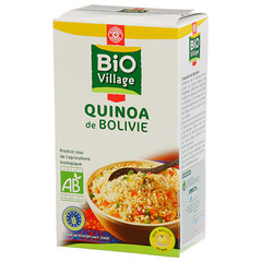 Quinoa de Bolivie Bio Village 500g