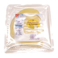 Fromage light 16% mat.gr - 10 fines tranches
