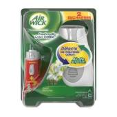 AIR WICK FRESHMATIC COMPACT ODOR DETEC FLEURS BLANCHES 2 RECHARGES