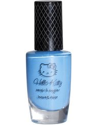 Hello Kitty - Vernis Manga Laque & Shine - 21 Swimming Blue
