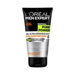 Gel Ultra-Desincrustant soin Anti-Imperfection Men Expert Pure Power