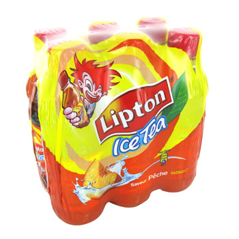 Lipton Ice tea peche , 6x25cl