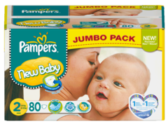 New Baby Jumbo pack Couches T2 (3-6 Kg)