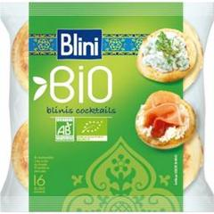 Blinis cocktails bio