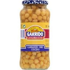 Garrido, Garbanzo oro cocido, pois chiches, le bocal,570g