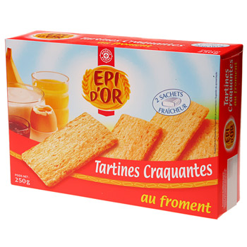 Cracottes Epi d'Or froment 250g
