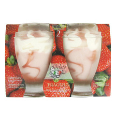 Gelato d'Italia coupes glacees fragola 2 X 180ml