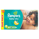 Pampers babydry duopack change x112 taille5
