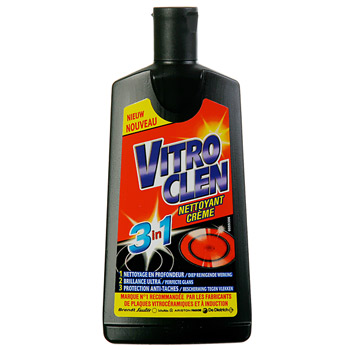 vitroclen nettoyant creme pour plaques vitroceramiques 200ml tous les produits nettoyants. Black Bedroom Furniture Sets. Home Design Ideas