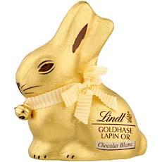 Lindt lapin or blanc 200g