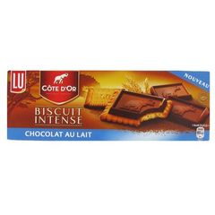 Cote D'or biscuits intense chocolat au lait 134g