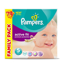 Pampers active fit family 2x37 taille 5
