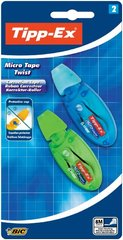 Ruban correcteur Micro Tape Twist 5mm, coloris assortis