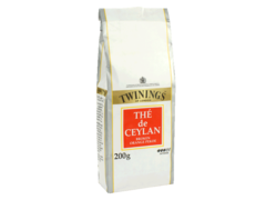 The de ceylan, broken orange pekoe, intense, le paquet de feuille en vrac de 200 gr