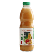 Auchan jus multifruits 2x1l