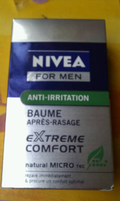 Baume hydratant Extreme Confort NIVEA FOR MEN, 100ml