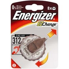 Pile auditive EZ Change 312 ENERGIZER, 8 unites