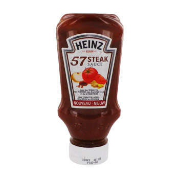 sauce steak heinz 250g