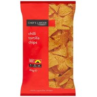 Chefs cellier Chilli Tortilla Chips 6 x 454gram