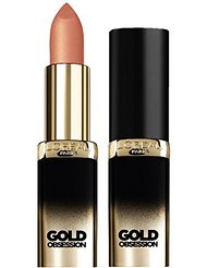 L'Oréal Paris Make Up Designer Color Riche Gold Obsession Rouge à Lèvres 36 Nude Gold
