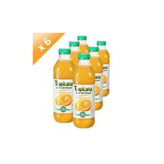 TROPICANA Pure Premium Orange Sans Pulpe 1L (x6)