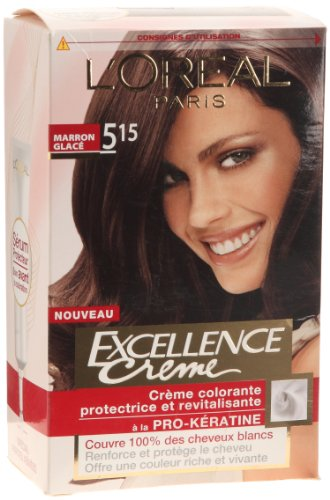 Coloration permanente EXCELLENCE, marron glace n°5.15
