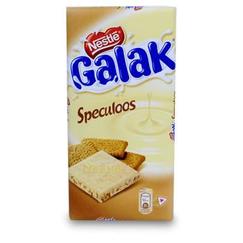 Chocolat blanc avec speculoos galac tous les produits tablettes de chocolat prixing - Carbonate de sodium danger ...