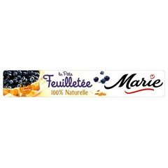 Marie pate feuilletee pur beurre 230g