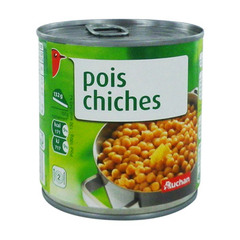 pois chiches auchan 265g