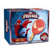 Disney spiderman fraise vanille x6