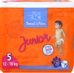 Couches culottes, Junior 5, 12-18kg