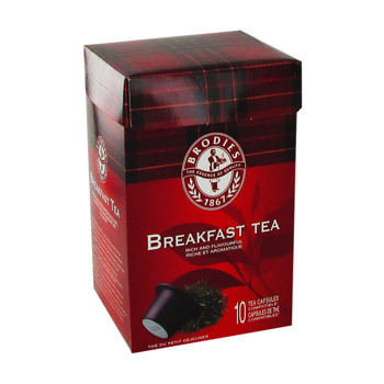 Brodies breakfast capsule x10 -51g