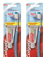 Brosse à dents Slim Soft souple + échantillon dentifrice