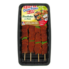 Brochettes de dinde a la mexicaine - Special Barbecue