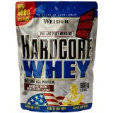 WEIDER Hardcore Whey Double Chocolat 600 g
