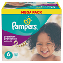 Pampers active fit méga x64 taille 6