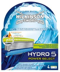 Lames de rasoir Wilkinson Hydro5 power select x4